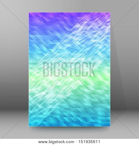 Background Report Brochure Cover Pages A4 Style Abstract Glow55