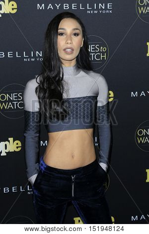 LOS ANGELES - OCT 13:  Eva Gutowski at the People's One to Watch Party at the E.P. & L.P on October 13, 2016 in Los Angeles, CA