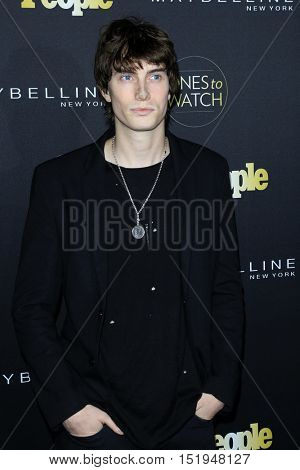 LOS ANGELES - OCT 13:  James Paxton at the People's One to Watch Party at the E.P. & L.P on October 13, 2016 in Los Angeles, CA
