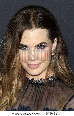 LOS ANGELES - OCT 13:  Jillian Murray at the People's One to Watch Party at the E.P. & L.P on October 13, 2016 in Los Angeles, CA