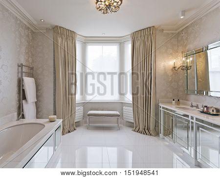 beautiful en-suite bathroom