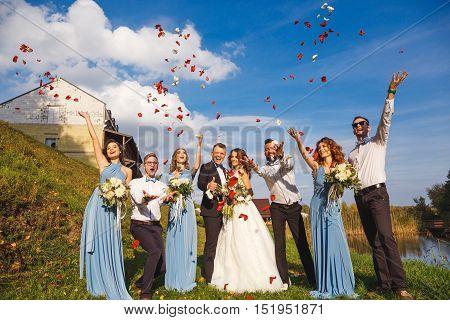Groomsmen And Bridesmaids