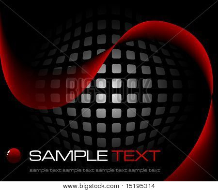 abstract background - vector illustration - jpeg version in my portfolio