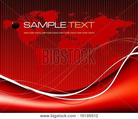 world map background concept - vector illustration - jpeg version in my portfolio