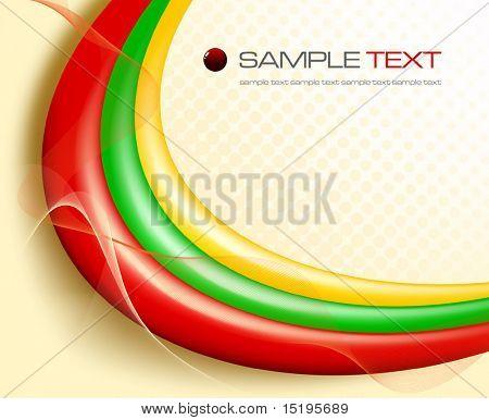 versión de composición abstracta de colores - vector illustration - jpeg en mi cartera