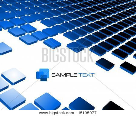 blue abstract background composition - vector illustration - jpeg version in my portfolio