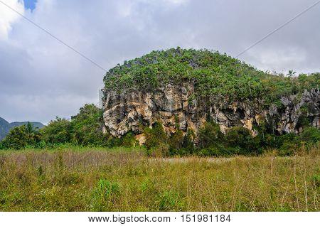 Rock Formations In Vinales Valley, Cuba