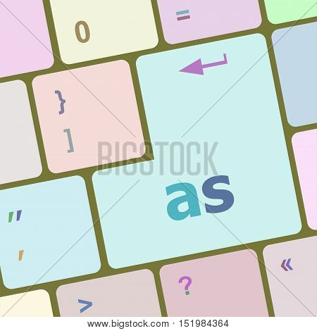 as button on computer keyboard key, business concept