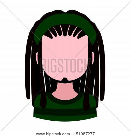 Avatar of a male with dreadlocks and headband