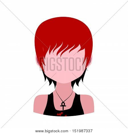 Avatar of a red short haired male