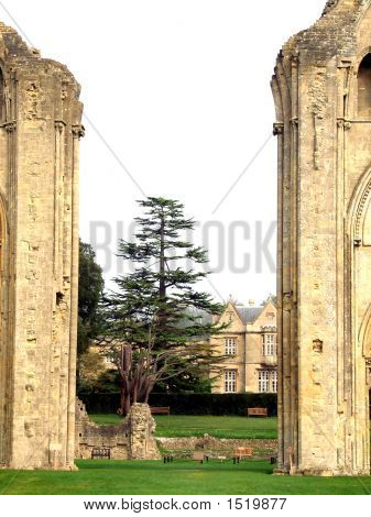 The Ruins Of Glastonbury Abbey