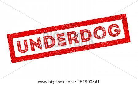 Underdog Rubber Stamp