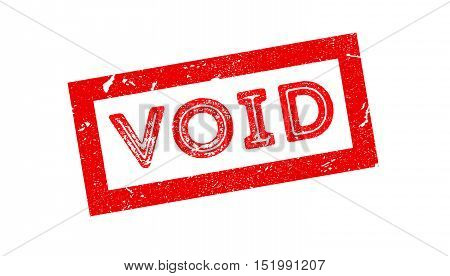 Void Rubber Stamp