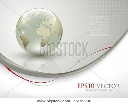 Business elegant abstract background - vector illustration