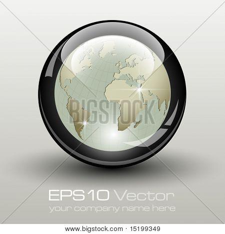 Elemento de negocio elegante - ilustración vectorial