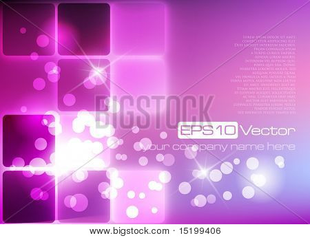 Purple elegant background - vector illustration