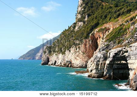 Italy 5-terre sea  view