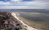 foto of labo  - The Baltic Sea Beach resort of Laboe near Kiel Germany - JPG
