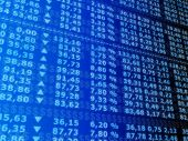 stock photo of stock market data  - 3d rendered illustration of a stock market - JPG