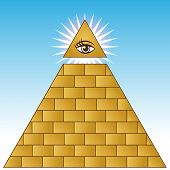 pic of illuminati  - Golden Eye Financial Pyramid - JPG
