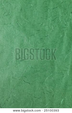 Green Mulberry Paper Texture
