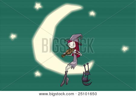 romantic witch