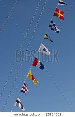Banderas náuticas