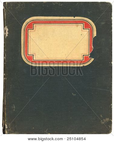 old notebook from 1908