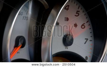 Speedometer And Tachometer 1