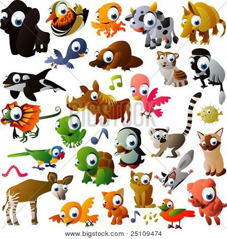 oferta extra vector conjunto animal