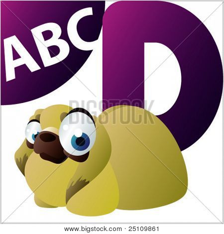 ABC animals: D is for Dog