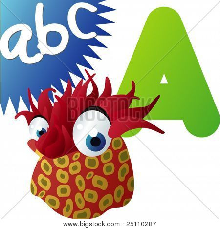 ABC animals: A is for Actinia
