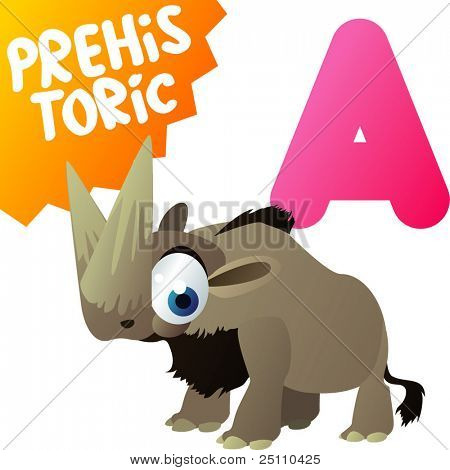 Prehistoric Animals: A is for Arsinoitherium