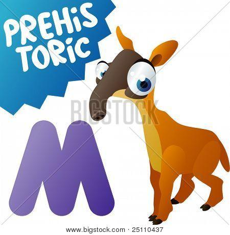 Prehistoric Animals: M is for Macrauchenia