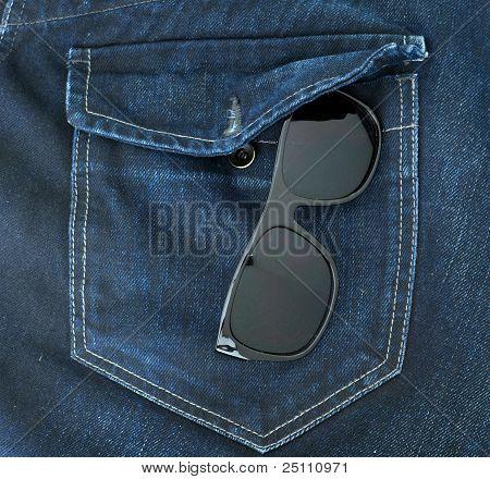 Jeans Tasche, schließen sich