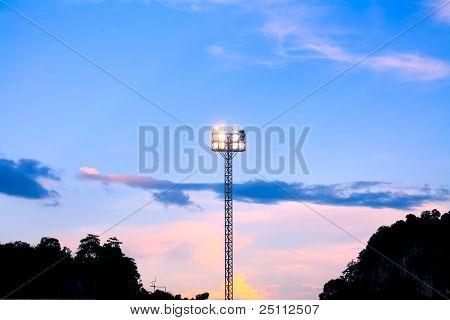 Pillar spotlights