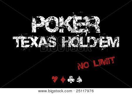 Poker Texas Hold'em - No limit