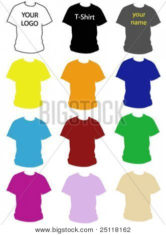 T-Shirt colors