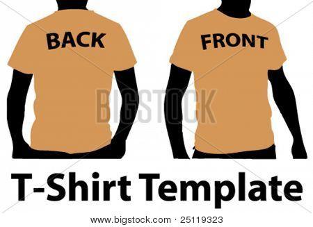 T-Shirt Vorlage 2