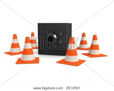 Safe And Traffic Cones