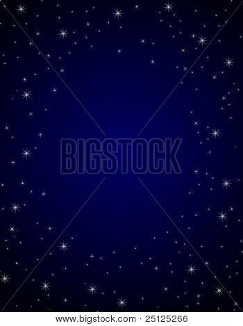 -Sternenfeld Hintergrund