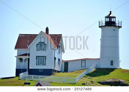 "Cape Neddick ""Nubbles"", Maine"
