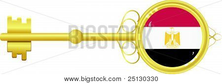 Golden Key From Egypt
