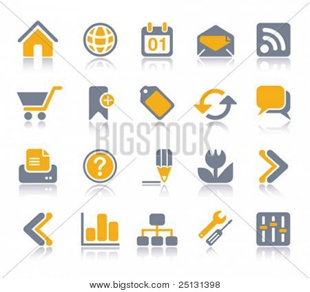VECTOR Internet / Web Icon set | Veeta series