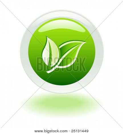 Ecology web push button icon