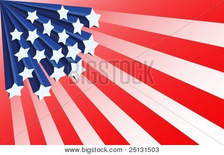 Patriotic Background in Vector format