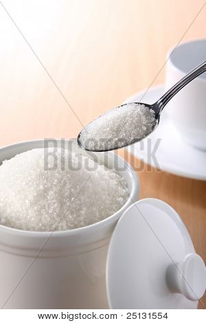 A teaspoonful of sugar for your coffee or tea