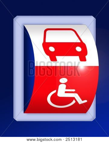 Disability And Car Symbols