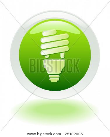 Energy Savings web button/icon