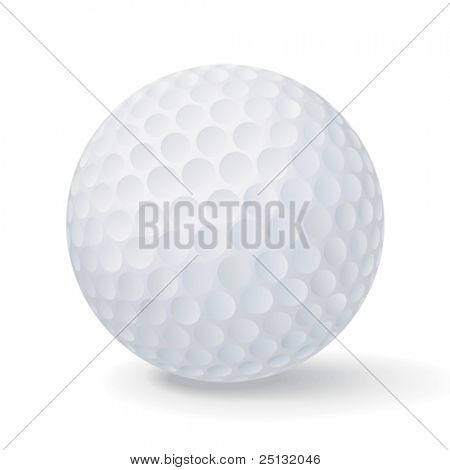 Vector golf ball